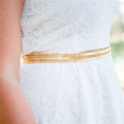 gold beaded belt gold wedding belt bridal sash gold by nestinabridesboutiq