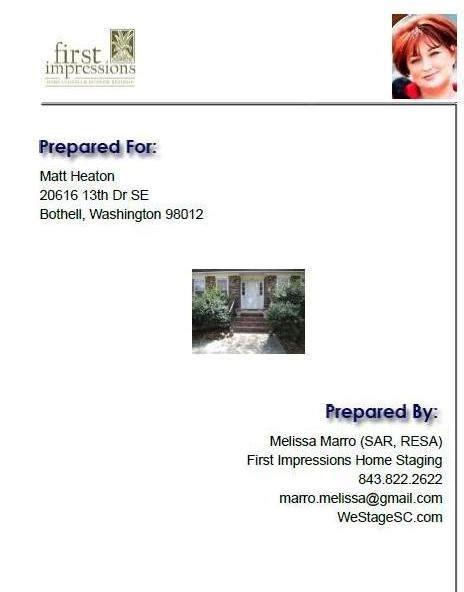 home staging report template looking for a better way to do home staging consultations