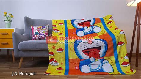 Selimut Bulu Anak Halus Lembut Junior Karakter Doraemon selimut karakter bulu lembut junior