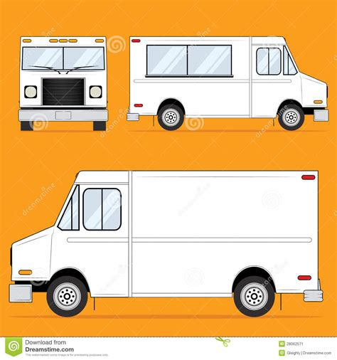 food truck design illustrator food truck blank stock image image 28062571 proyectos