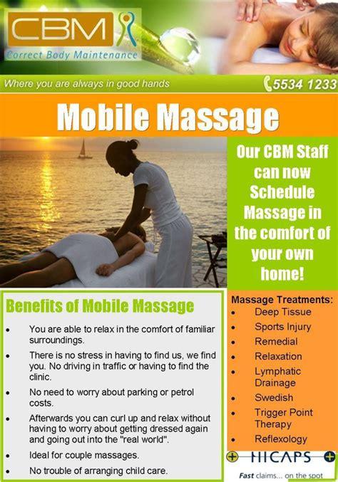 mobile massage correct body maintenance