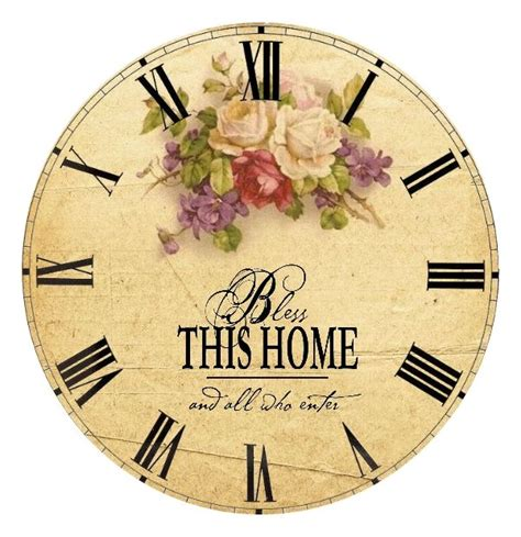 Printable Clock Faces For Crafts