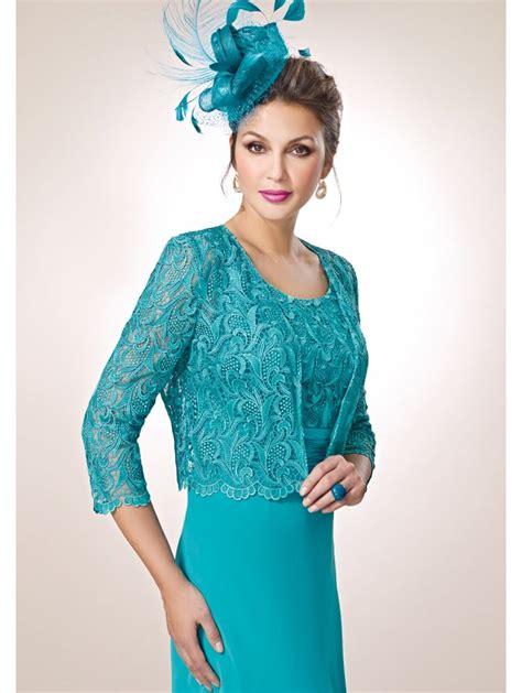 Terysa Set Dress zeila 502 lace bolero floaty chiffon dress set turquoise