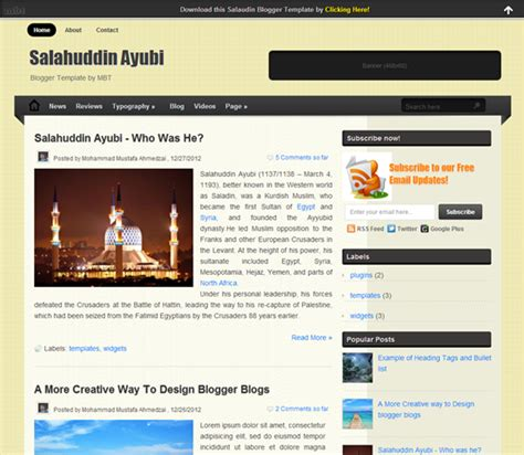 template blogspot seo friendly mdcsite