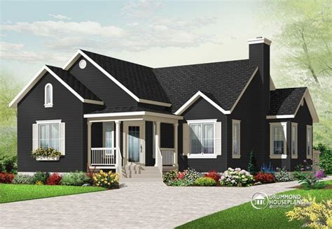 Drummond House Plan Beautiful 3 Bedroom Bungalow With Open Floor Plan By Drummond House Plans