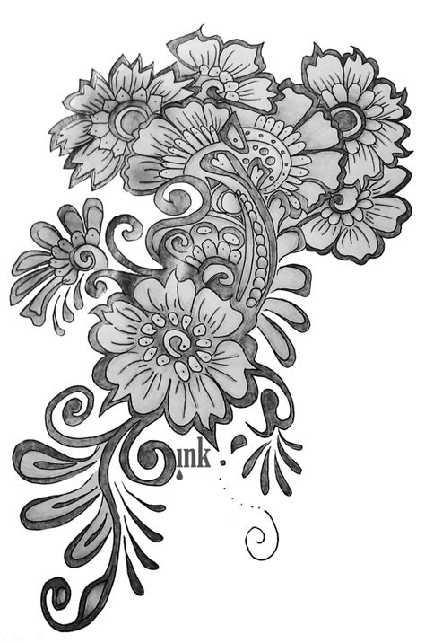 design flower pencil gallery simple pencil art designs drawing art gallery