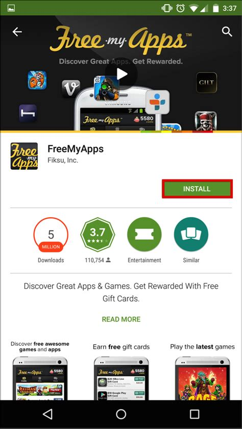 my free android how do i start a freemyapps account android how can