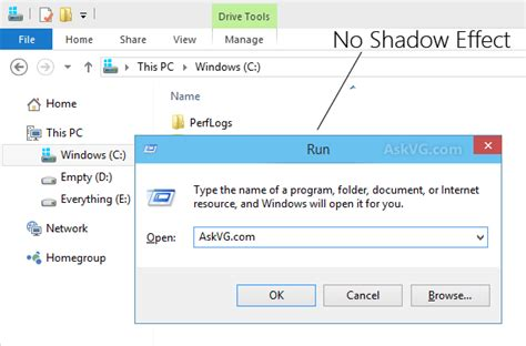 master tutorial to make windows 10 super fast tip remove shadow effect from window borders in windows