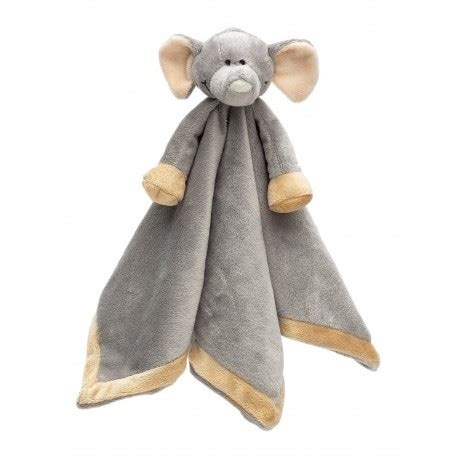 elephant comfort blanket personalised teddykompaniet diinglisar baby comfort