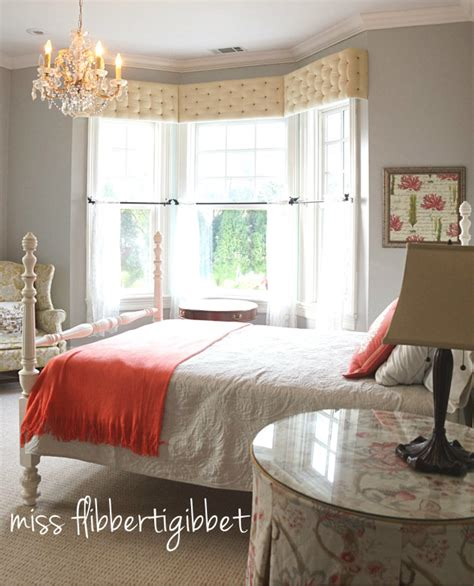 creating a guest room gray and coral miss flibbertigibbet