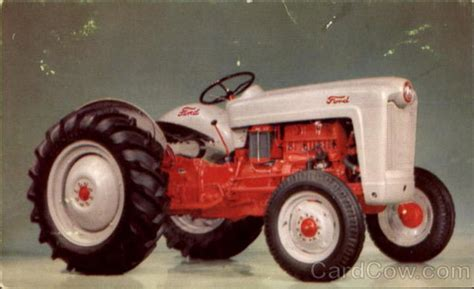 original color picture of ford yesterday s tractors