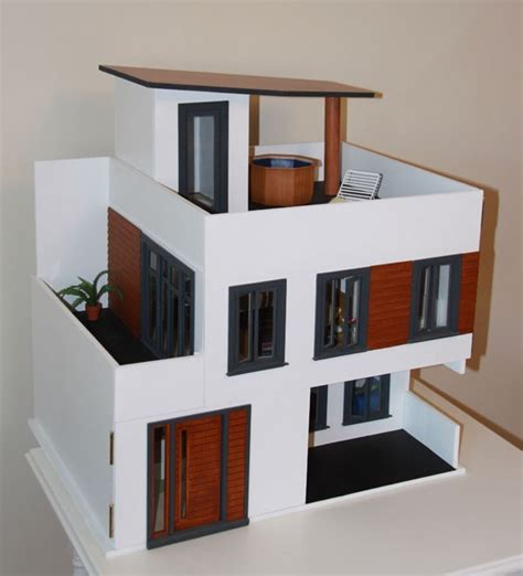 modern dollhouse modern miniature my modern dollhouse dreams pinterest