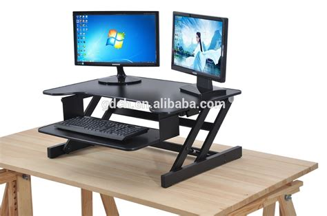 build your own sit stand desk computer monitor stand for desk computer monitor stand
