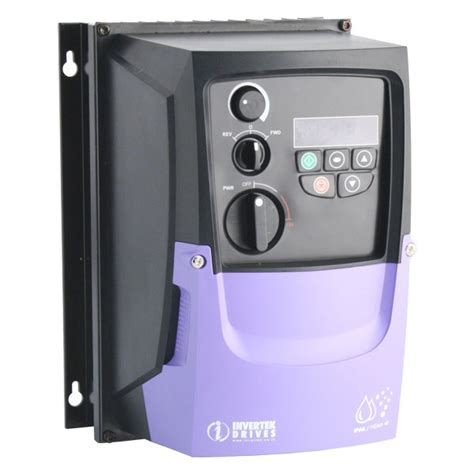 a thermistor motor temperature protection device operates by invertek optidrive e2 4 0kw ode 2 24400 3ka4y ip66 inverter