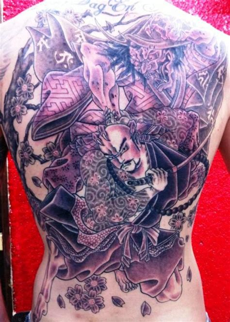 tattoo back piece japanese back tattoos and designs page 266
