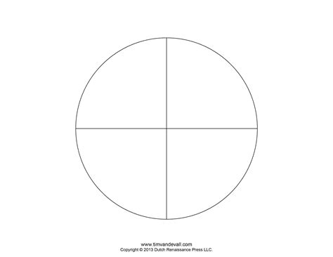 Blank Pie Chart Templates Make A Pie Chart Pie Chart Template Word
