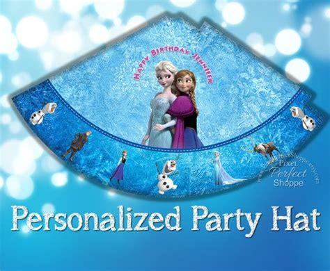 printable frozen hats frozen birthday party hat frozen birthday party frozen