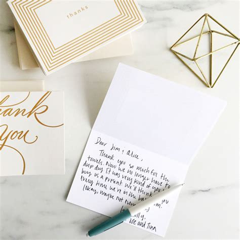 Wedding Thank You Messages: What to Write in a Wedding