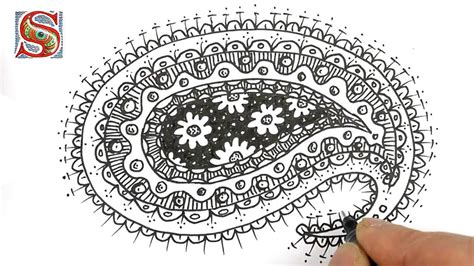paisley pattern drawing how to draw a paisley pattern paisley park pinterest