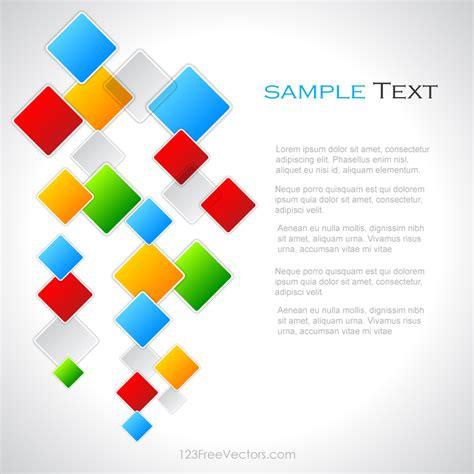 colorful designer colorful square background vector design 123freevectors
