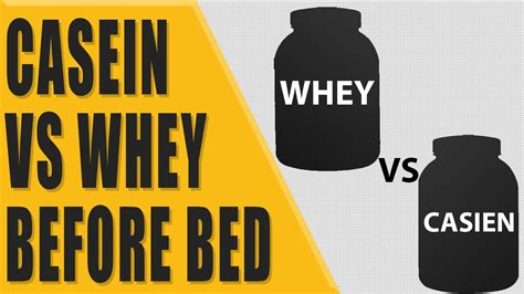 casein before bed casein vs whey before bed youtube