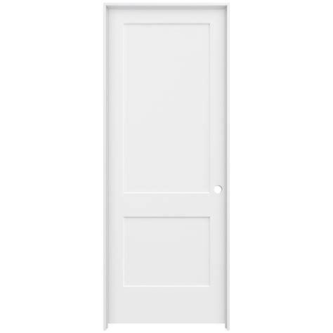Jeld Wen 36 In X 96 In Smooth 2 Panel Primed Solid Core 36 X 96 Interior Door