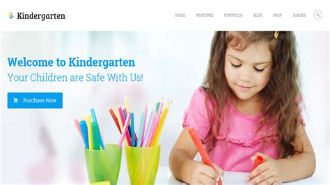 20 Modern Wordpress Themes For Kids Parents Themerex Playgroup Website Templates