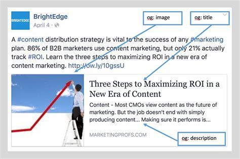 membuat facebook open graph what is facebook marketing brightedge