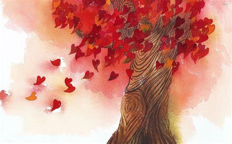 tree hearts tree 719271 walldevil