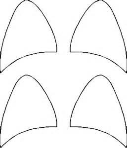 Cat Ear Template by Cat Ears Pattern