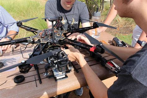 what s the frequency a map of iot devices using drones