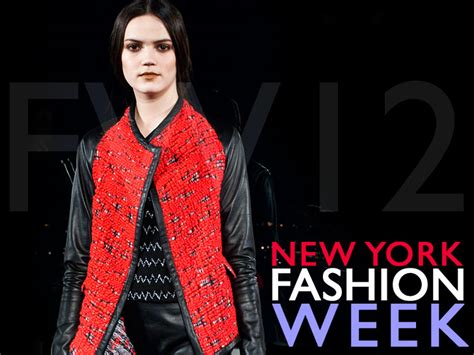 Ny Fashion Week by Ecouterre Shares The Eco Fashion Shows From New