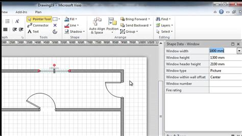 create floor plans free getting started with visio 24 build scaled drawings and