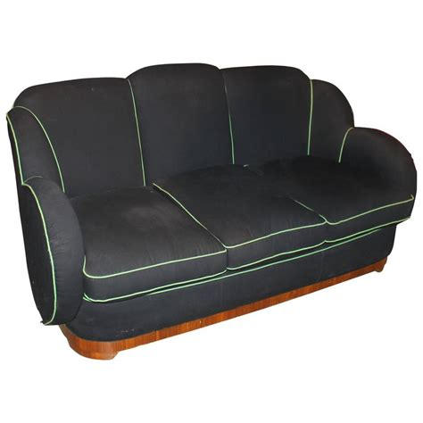 art deco sofa for sale art deco upholstered sofa for sale at 1stdibs