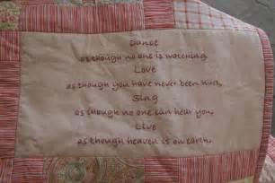 quotes for quilt labels quotesgram