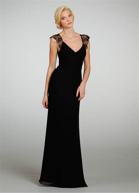 Black Bridesmaid Dresses by Black Lace Dress Dressed Up