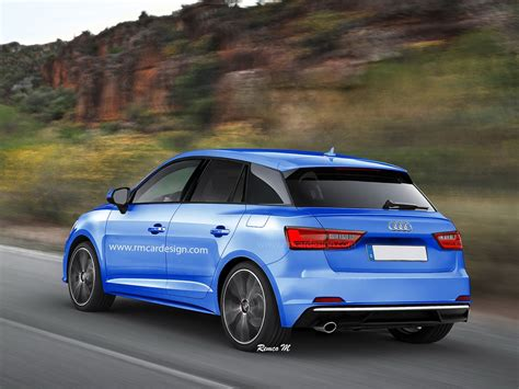 New Audi A1 2018 by 2018 Audi A1 Rendering Seems To Combine Recent Spyshots
