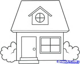 Home Draw How To Draw A House For Kids Step By Step Buildings