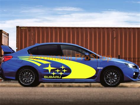 subaru side decal acromann online shop