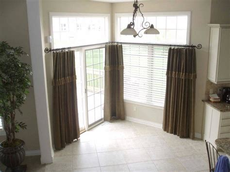 curtains for big kitchen windows kitchen window treatments for large windows maumee oh