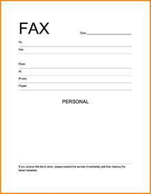 fax cover sheet template microsoft word 7 blank fax cover sheet template word cashier resumes