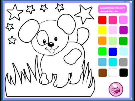 dog coloring pages games dog coloring pages for kids dog coloring pages games