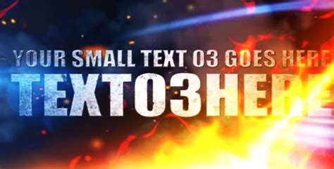Explosion In Hell After Effects Project Videohive Free After Effects Template Videohive After Effects Explosion Template Free