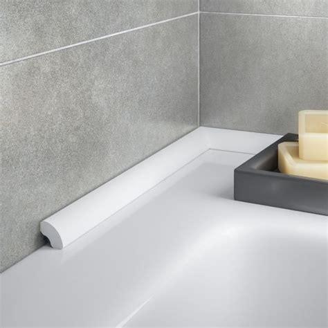 chrome quadrant trim b q tile trims aluminium plastic tile trims diy at b q