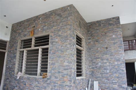 The Gallery For Gt Slate Wall Tiles Exterior