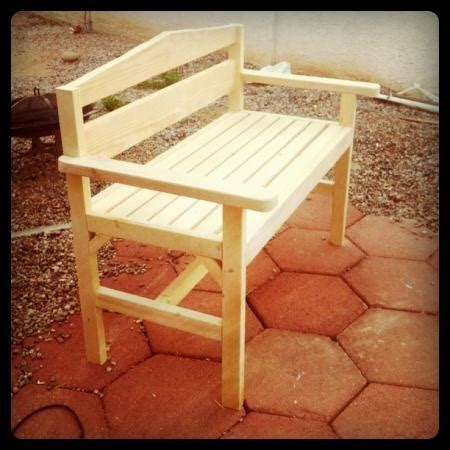 easy to make outdoor benches easy to build garden bench the home depot community
