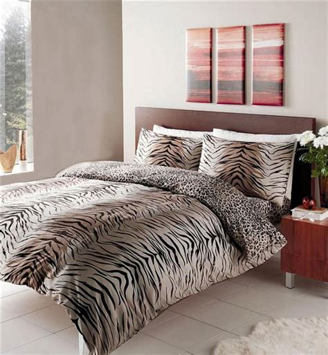 Animal Print Duvet Cover New Animal Print Duvet Sets Zebra Leopard Safari Wolf