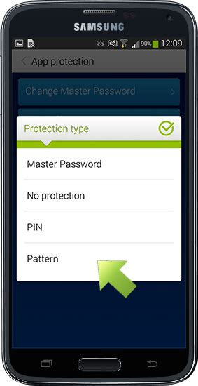 master pattern for android pattern authentication on your android device