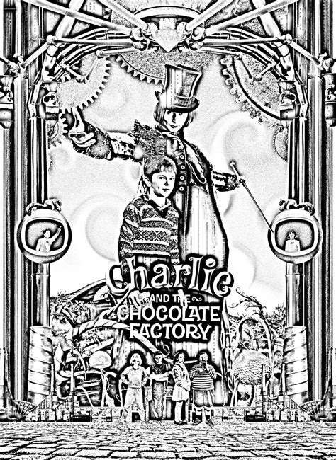 Free coloring page coloring-movie-charlie-et-la
