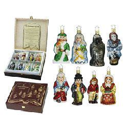 a christmas carol ornament gift set a christmas carol